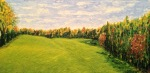 Meetinghouse Road, 12 x 24, oil on canvas (10/2015)
