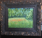 Poppies II, 11 x 14, oil on canvas (7/2015) -- Private Collection